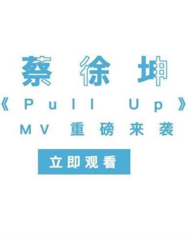 Pull Up 官方版 -- 蔡徐坤